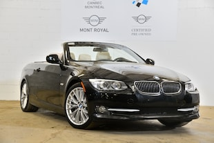 2011 BMW 335i Convertible- WoW 37 942 km -  Cabriolet