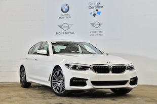 2018 BMW 530i xDrive-M Sport Package- Head Up Display- Berline