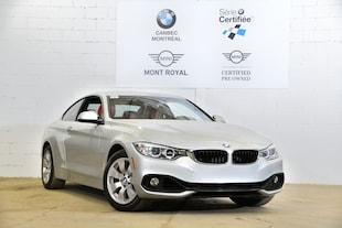 2015 BMW 428i xDrive-88$ Hebdomadaire- Bas Km- Coupe