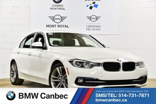 2017 BMW 3 Series 320i xDrive-48 405 kms-Superbe! Sedan