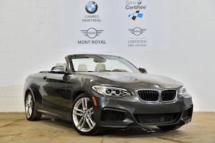 2016 BMW 228i xDrive-Convertible-Certifie 5 Ans Km Illimité-** Convertible