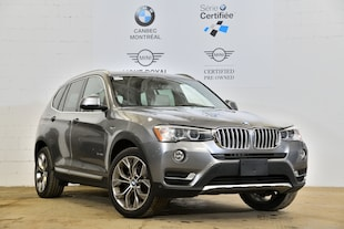 2015 BMW X3 xDrive-88$ Hebdomadaire-0$ Comptant**- SAV