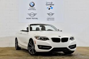 2015 BMW 228i xDrive-Convertible-86$ Hebdomadaire**- Convertible