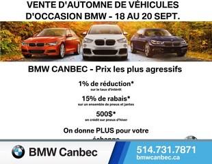 2015 BMW X1 xDrive28i-À PARTIR DE 0.99% SAV