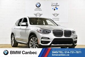 2018 BMW X3 xDrive30i-Premium Package-Serie certifié, G