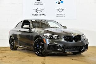 2018 BMW M240i xDrive-7589 km - Ancien Démo Coupe