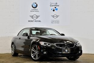 2015 BMW 428i xDrive-Convertible-Série Certifié-Gar. 5 ans Km Il Décapotable ou cabriolet