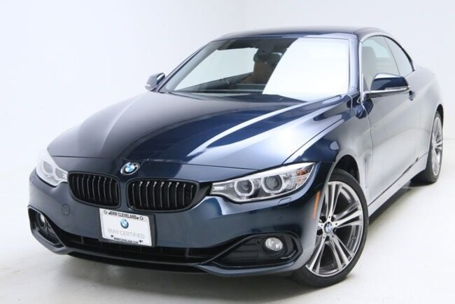 2017 BMW 430i xDrive SULEV Convertible