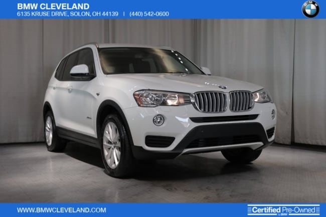 Pre-Owned 2017 BMW X3 For Sale at BMW Cleveland | VIN: 5UXWX9C56H0D98636