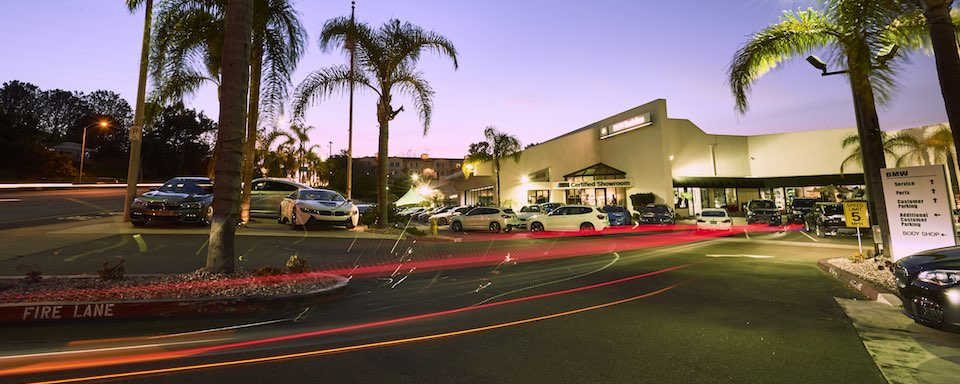 Outside view of BMW Encinitas