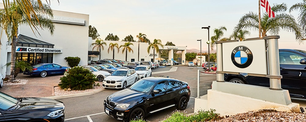 Exterior view of BMW Encinitas serving San Diego