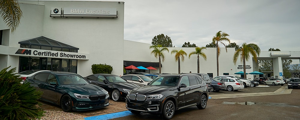 Exterior view of BMW Encinitas serving Carlsbad