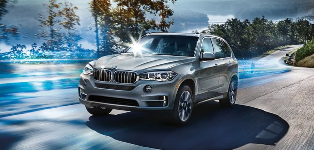 Side view of the 2018 BMW X5