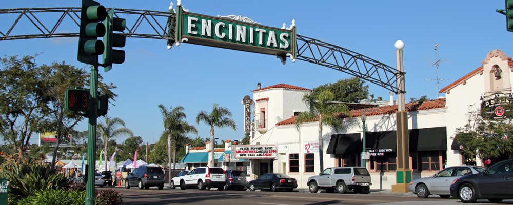 View of Encinitas, CA