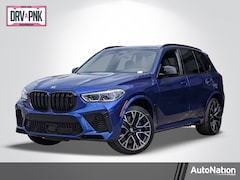 2020 BMW X5 M Competition SAV