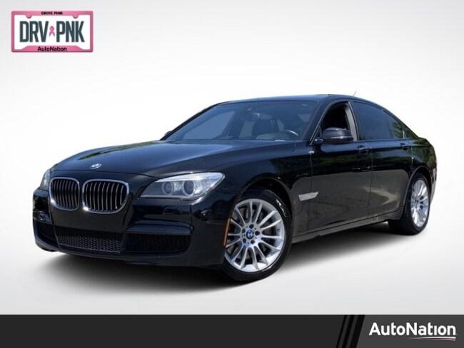 2014 BMW 750i Sedan
