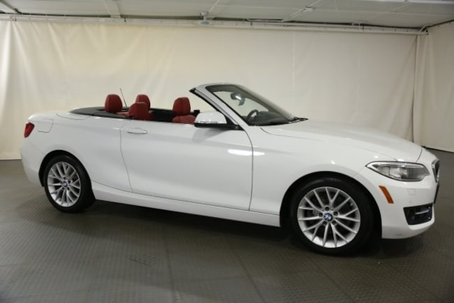 Certified Used 2016 BMW 228i xDrive Convertible for sale in Norwood serving greater Boston