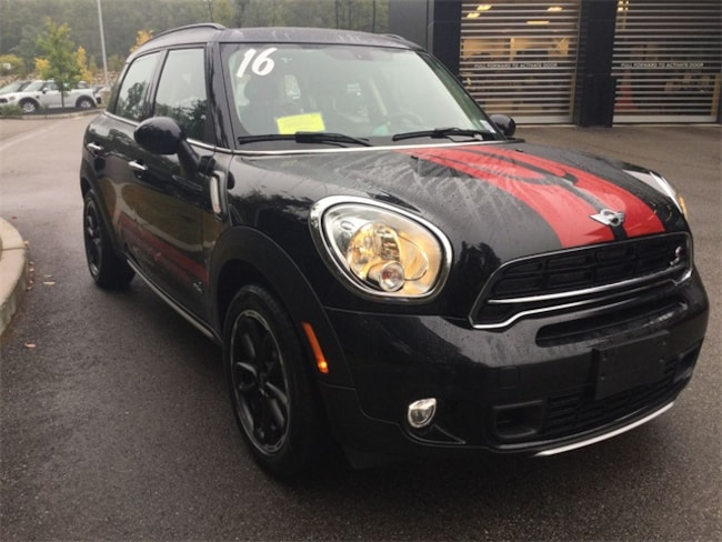 Certified Used 2016 MINI Cooper S Countryman ALL4 SUV In Rockland MA Serving Greater Boston