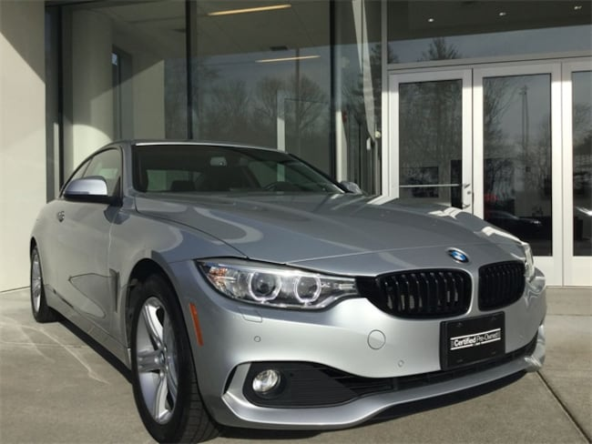 Certified Used 2015 BMW 4 Series 428i xDrive Coupe for sale in Norwood serving greater Boston