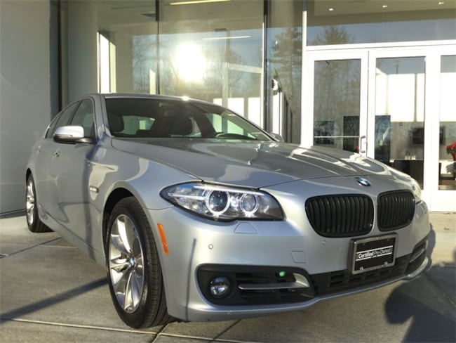 Certified, Used 2016 BMW 5 Series 528i xDrive Sedan in Rockland MA serving greater Boston