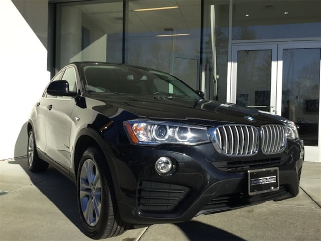 Certified Used 2016 BMW X4 xDrive28i Sports Activity Coupe for sale in Norwood serving greater Boston