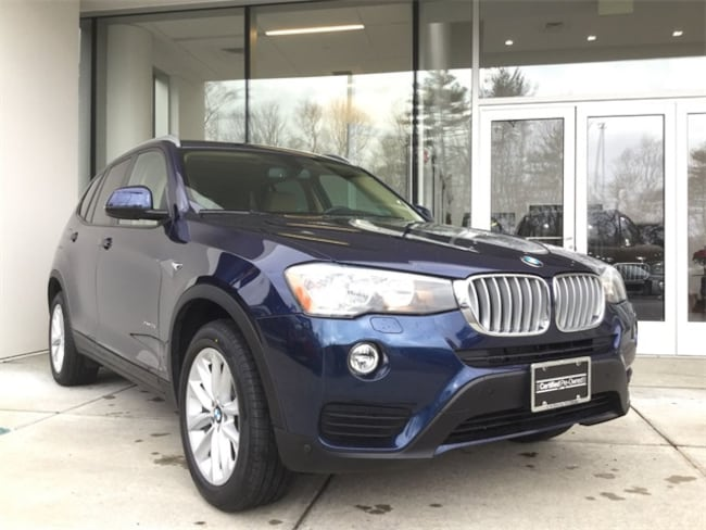 Certified, Used 2016 BMW X3 xDrive28i SAV in Rockland MA serving greater Boston