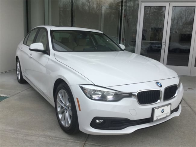 Certified Used 2016 BMW 3 Series 320i xDrive Sedan for sale in Norwood serving greater Boston