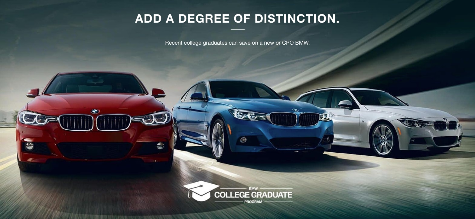 College Graduate Program | The BMW Store