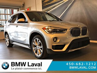2018 BMW X1 xDrive28i X1 xDrive28i GROUPE SUPÉRIEUR ESS xDrive28i Sports Activity Vehicle