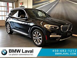 2019 BMW X3 xDrive30i GROUPE SUPÉRIEUR AMÉLIORÉ SUV