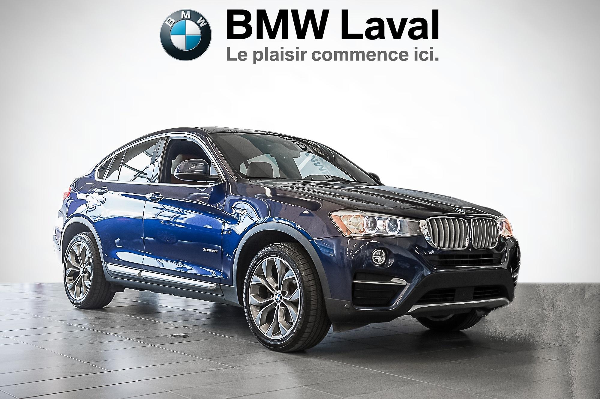 2015 BMW X4 xDrive28i GROUPE SUPÉRIEUR AMÉLIOR&E AWD  xDrive28i