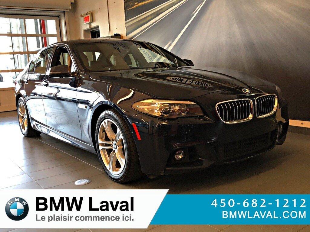 2015 BMW 5 Series 528i xDrive GROUPE M SPORT, CAMÉRA DE RECUL Sedan