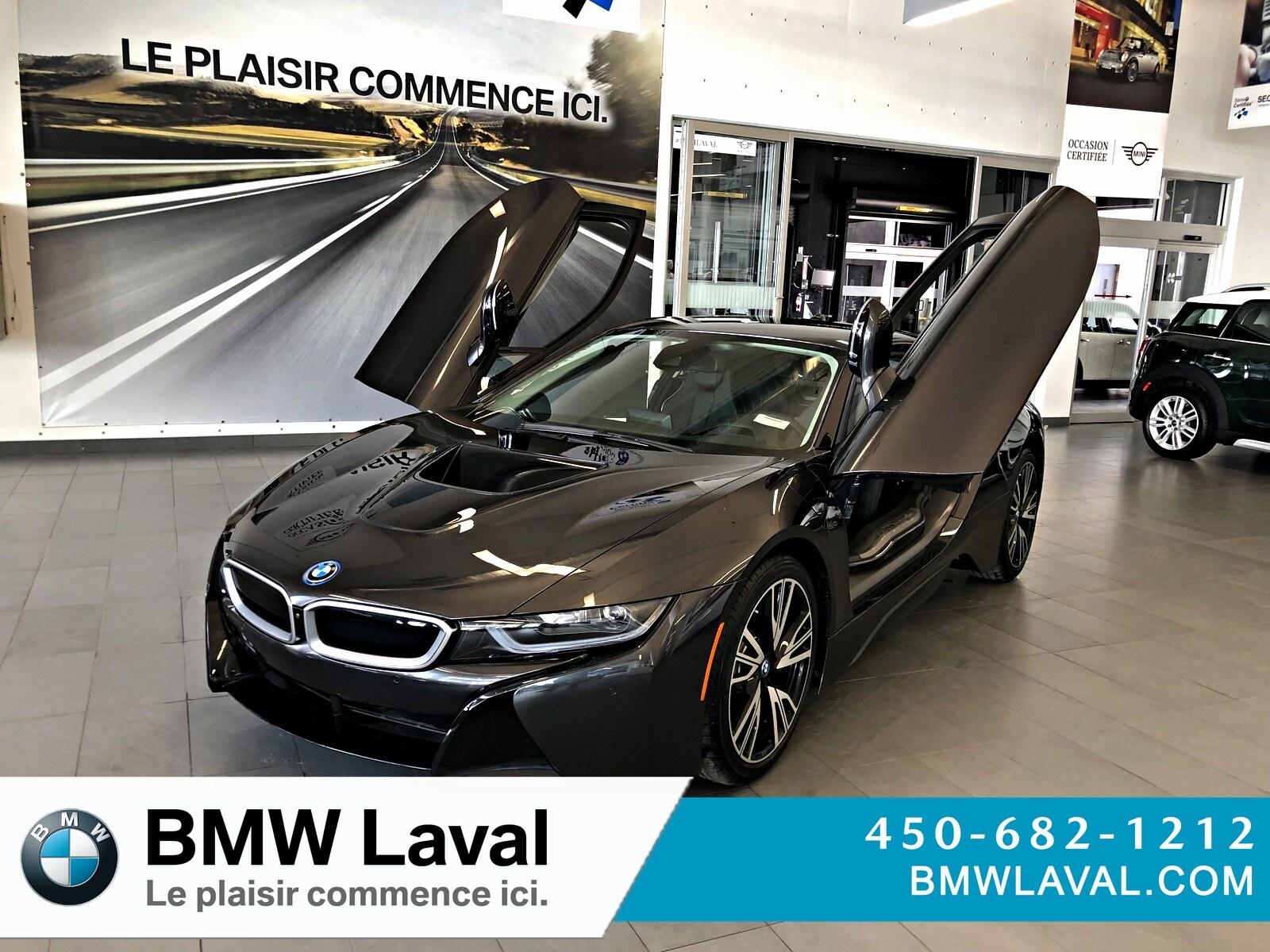 2017 BMW i8 GROUPE SUPÉRIEUR, NAVIGATION Coupe