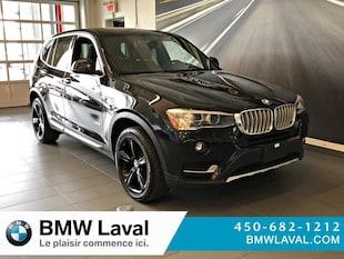2017 BMW X3 xDrive28i GROUPE SUPÉRIEUR ESSENTIEL AWD  xDrive28i