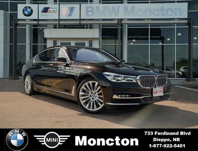 Used 2018 BMW 750Li For Sale at BMW Moncton | VIN