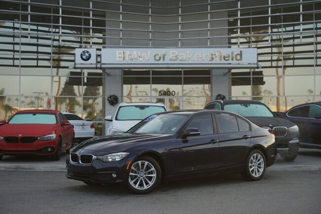 Certified 2016 BMW 3 Series 320i Sedan in Bakersfield, CA
