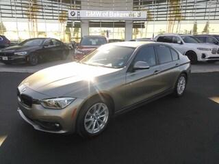 Certified Pre-Owned 2017 BMW 3 Series 320i Sedan in Bakersfield, CA