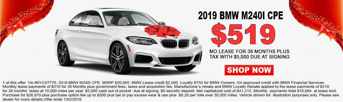 New Bmw Specials In Bakersfield Ca