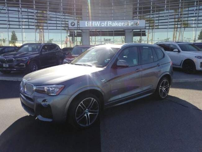 Used 2016 BMW X3 Xdrive28i SUV in Bakersfield, CA