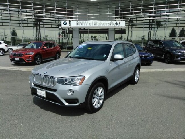 Certified 2017 BMW X3 Xdrive28i SUV in Bakersfield, CA