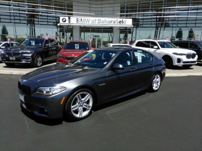 Certified 2016 BMW 5 Series 535i Sedan in Bakersfield, CA