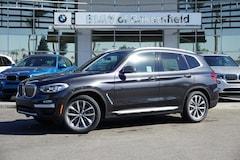 New 2019 BMW X3 sDrive30i SAV in Bakersfield