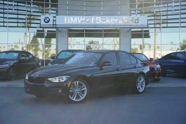 Certified 2018 BMW 3 Series 320i Sedan in Bakersfield, CA