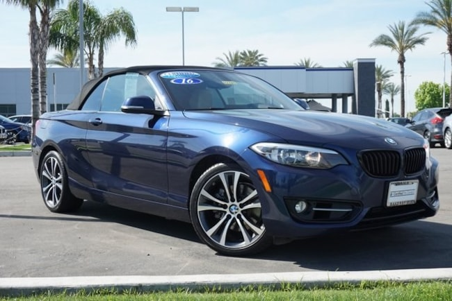 Certified 2016 BMW 2 Series 228i Convertible in Bakersfield, CA