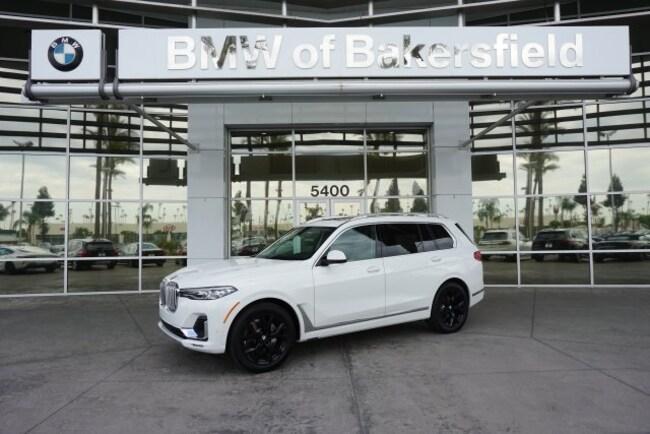 New 2019 BMW X7 xDrive40i SUV in Bakersfield, CA