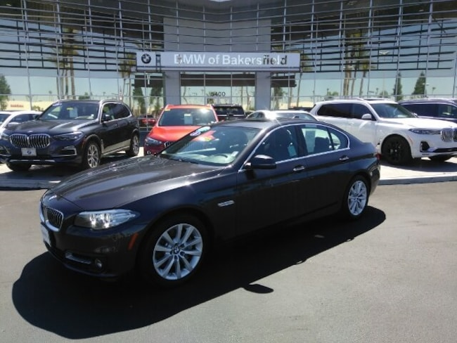 Certified 2016 BMW 5 Series 535i Sedan in Bakersfield, CA