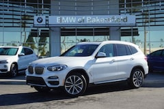 New 2019 BMW X3 xDrive30i SAV in Bakersfield, CA