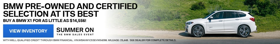 BMW Pre-Owned & Certified Selection