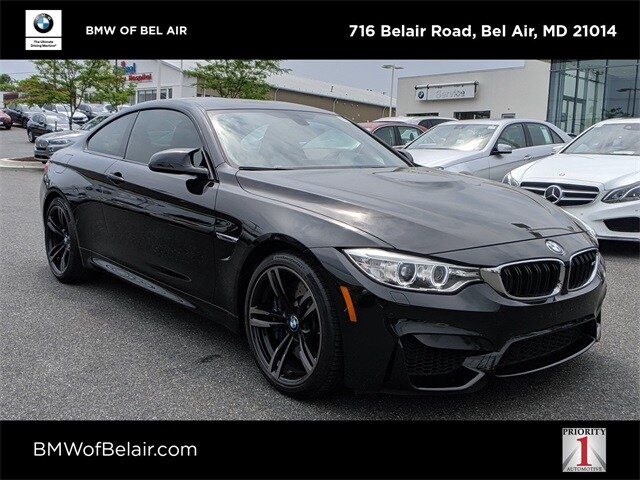 Pre-Owned 2016 BMW M4 For Sale at BMW of Bel Air | VIN