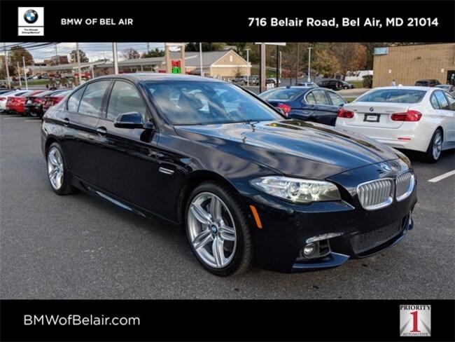 2016 BMW 5 Series 550i Xdrive Sedan